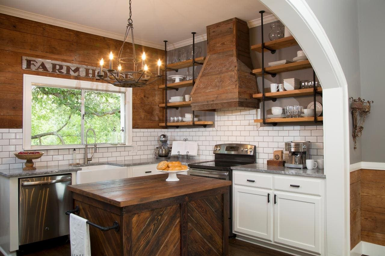 Fixer Upper Batson Kitchen