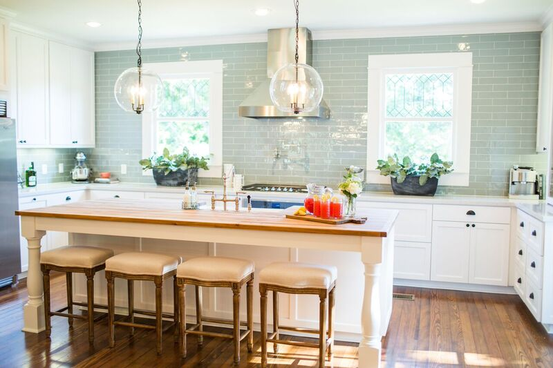 Subway Tile In Kitchen