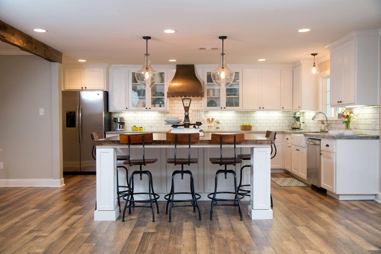 how to add fixer upper style to your home kitchens