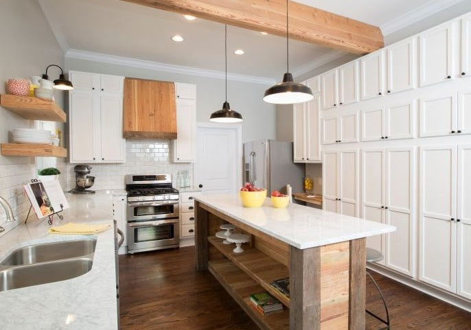 How to add fixer upper style to your home kitchens How to redo your room without spending money