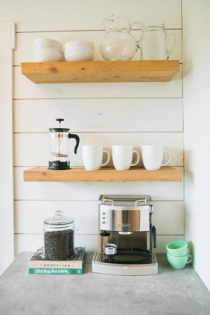 kitchen youtube shelf diy counter shelving for watch