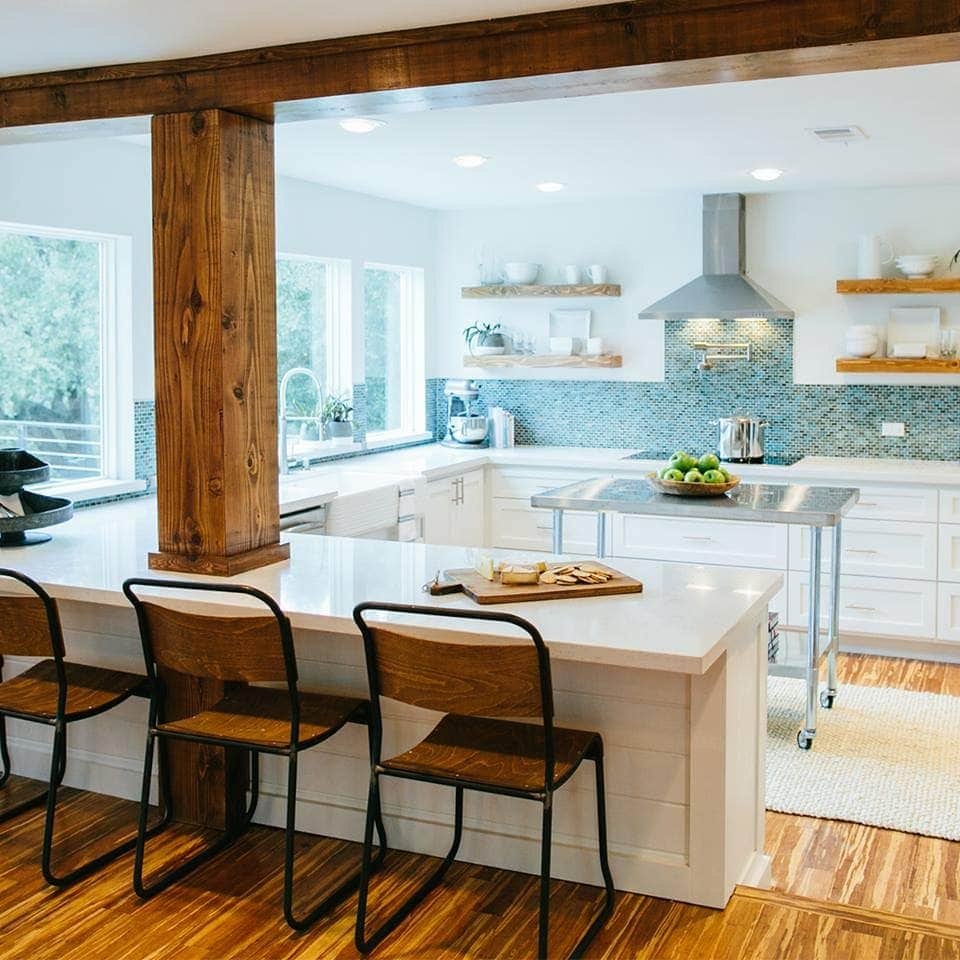 "How to Add ""Fixer Upper"" Style to Your Home - Kitchens (Part 1) 