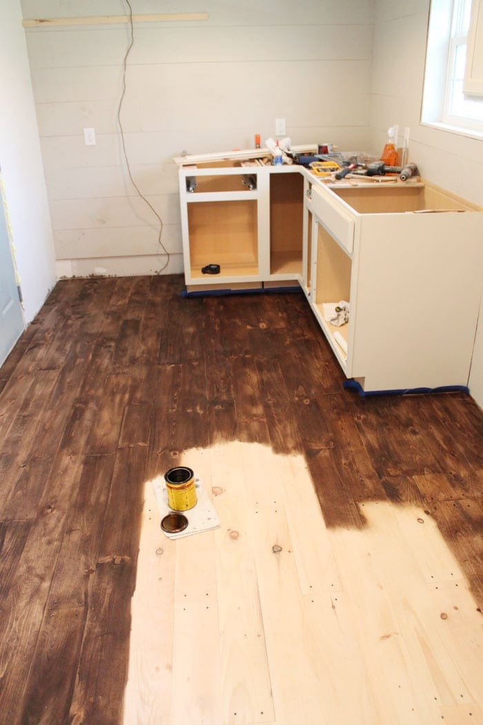 Diy Hardwood Floors Under 150sq Ft The Harper House